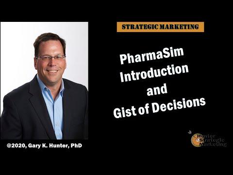 Applying the Framework: PharmaSim - Allstar Brands