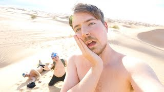 Surviving 24 Hours Straight In A Desert thumbnail