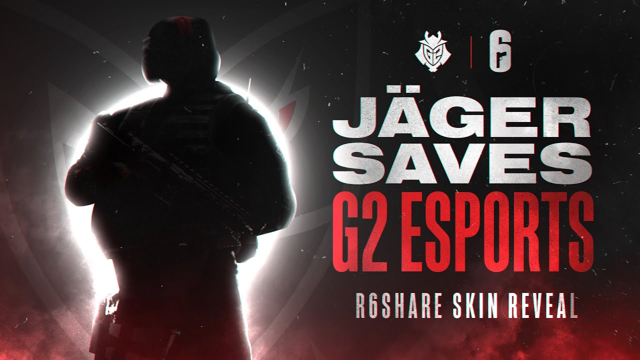 JÄGER Saves G2 Esports | R6Share Skin Reveal