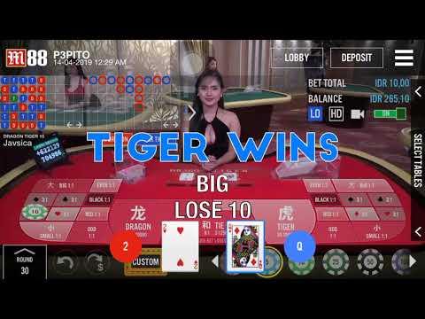 Dragon Tiger Live Casino M88 Youtube