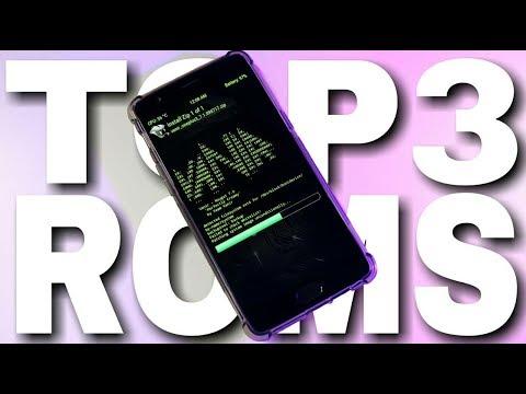TOP 3 ROMS #6   AOKP   VANIR   SLIM ROM   7.1.2   REVIEW
