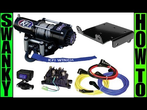 Suzuki King Quad Winch Install | How to