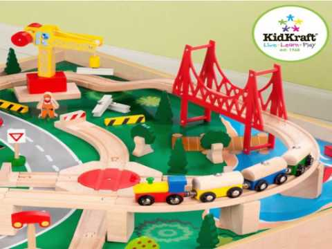 High Quality KidKraft Waterfall Mountain Train Set And Table   Kids Toys