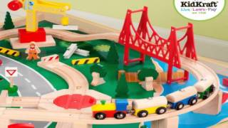 Kidkraft Waterfall Mountain Train Set And Table - Kids Toys