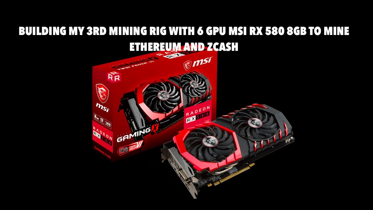 Best Driviers For Rx 580 Mining Rig Msi For Coin Mining – VertMed