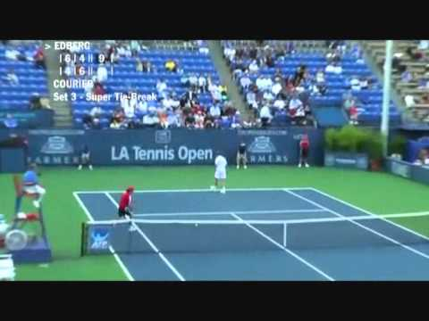 Stefan Edberg vs Jim Courier - Los Angeles 2009 (8 de 8)