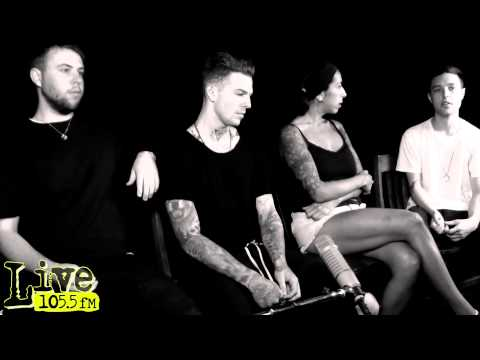 The Neighbourhood Interview on Live1055 With Katrina - YouTube