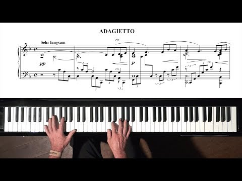 "Mahler ""Adagietto"" Symphony No.5 - PIANO + FREE sheet music"