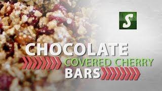 Chocolate Covered Cherry Bars - Energy Bar Recipe