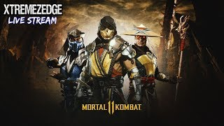 MORTAL KOMBAT 11 - HAPPY HALLOWEEN! (LIVE STREAM)