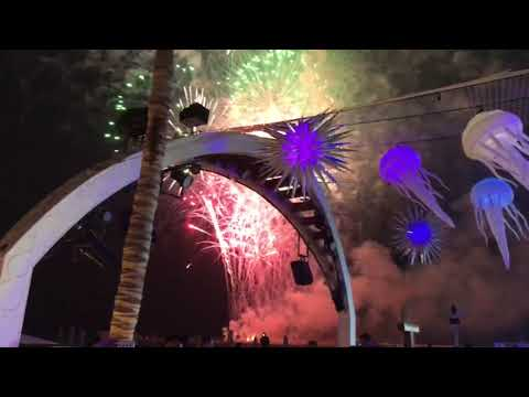 UAE National Day 2017 Fireworks Celebrations from Zero Gravity Dubai Marina