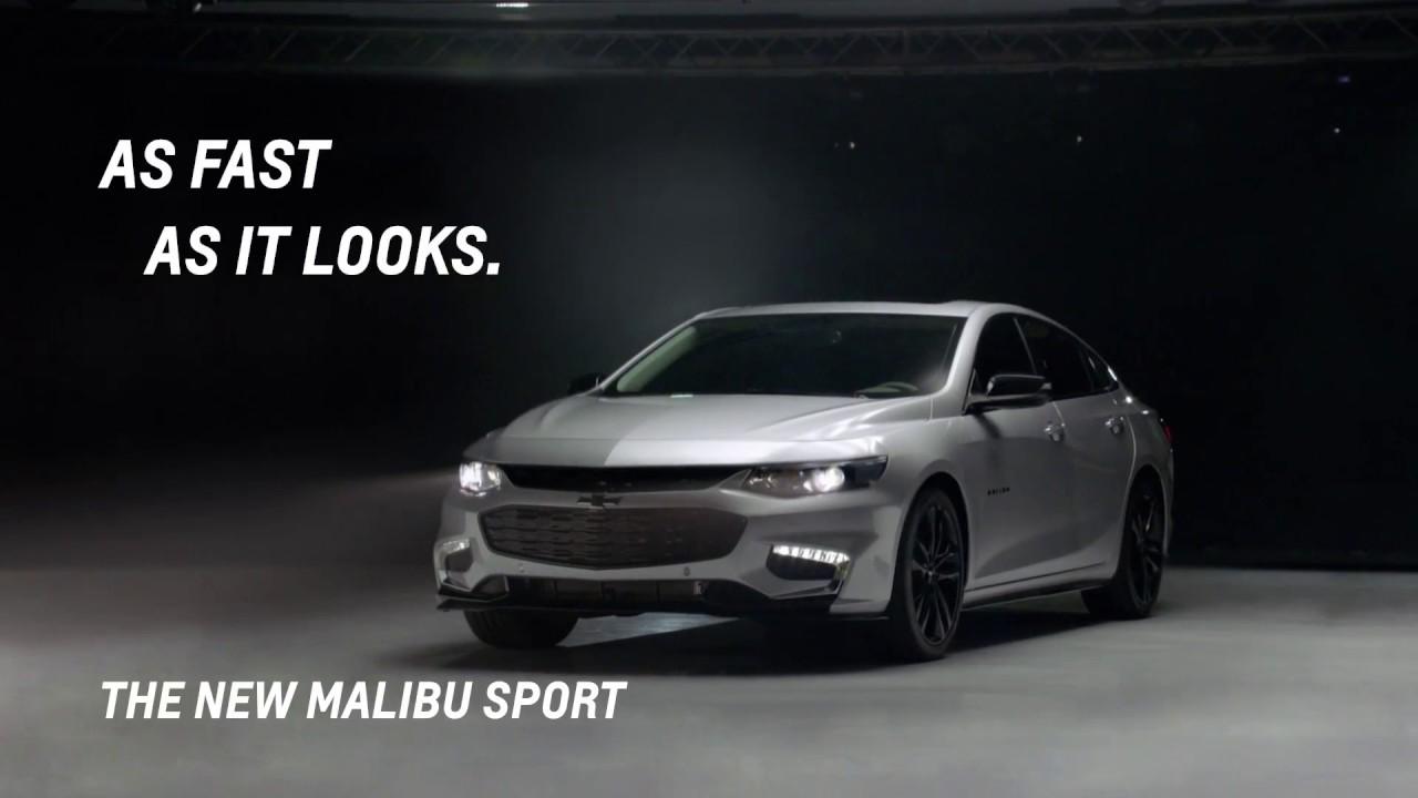 The Malibu Sport As Fast It Looks Chevrolet Arabia