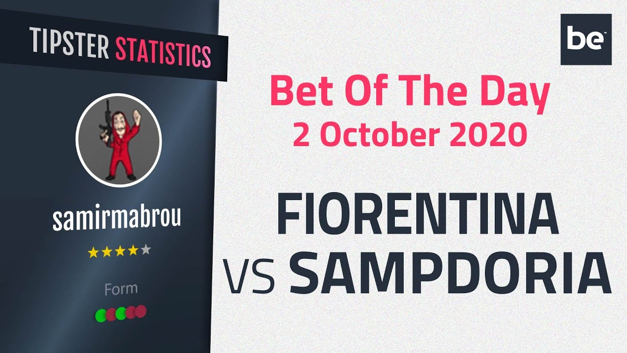 Sampdoria vs fiorentina betting expert football matched betting bonus