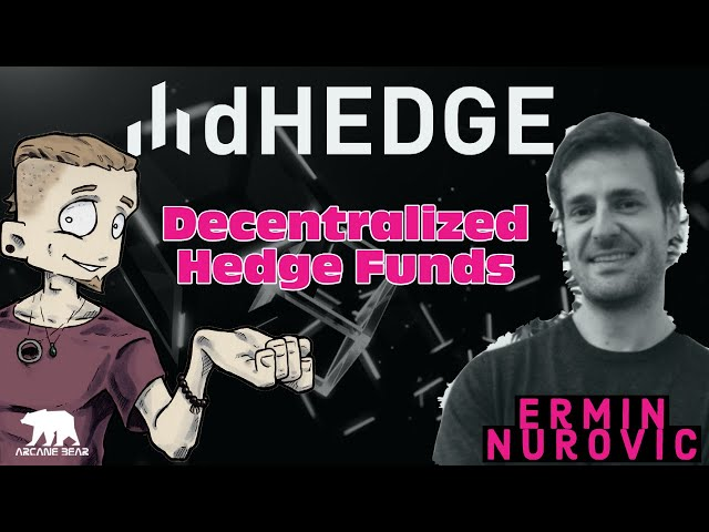 Dhedge The Decentralized Crypto Fund. W/ Ermin Nurovic
