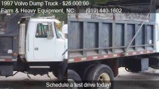 1997 Volvo Dump Truck  for sale in Farm and Heavy Equipment,