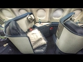 Delta Airlines BUSINESS CLASS Los Angeles to New YorkW/ATC