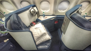 Delta One BUSINESS CLASS   A330 SEA-AMS