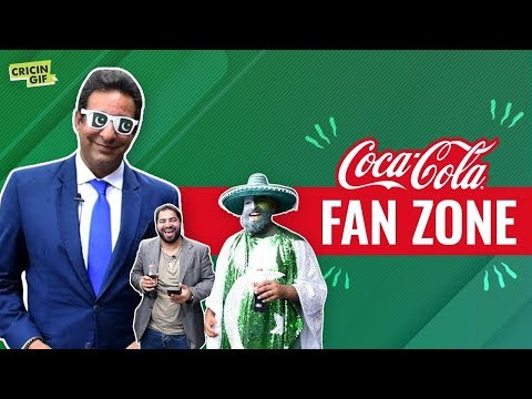 Pakistan vs Afghanistan: Coca Cola Fan Zone powered by Cricingif