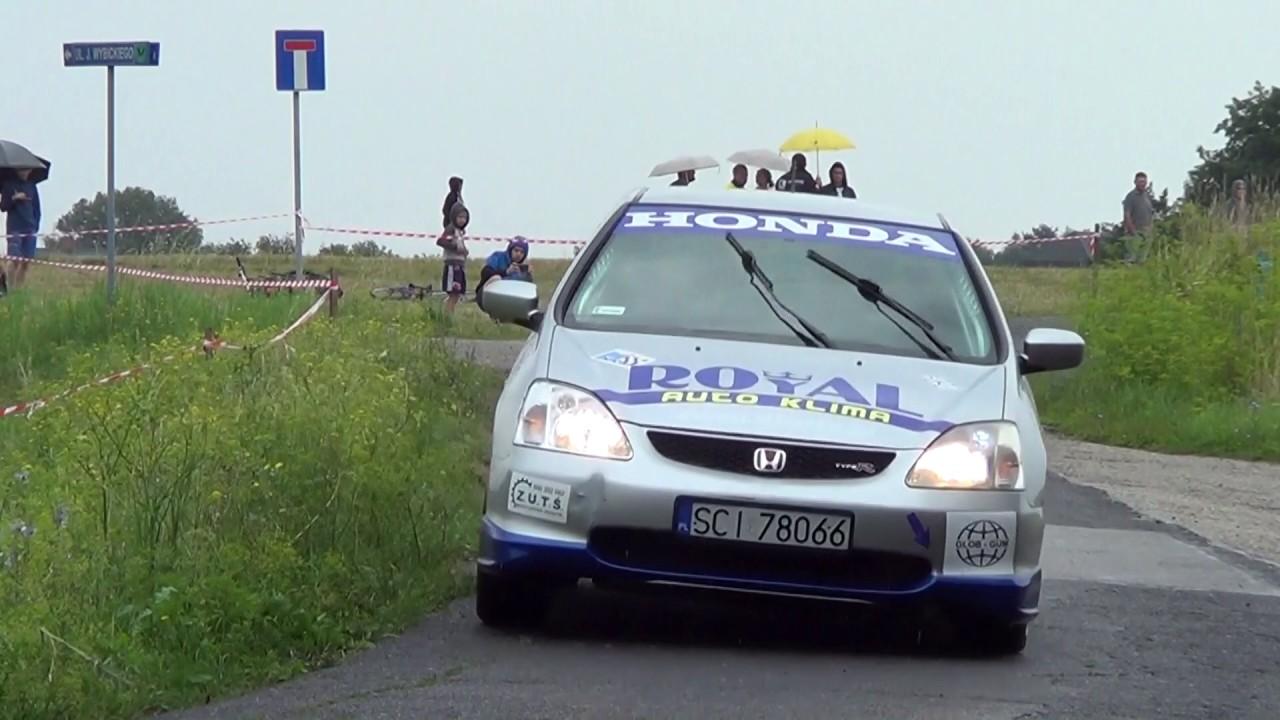 4 Runda RPŚl 2017 – Jastrzębie-Zdrój – Tomasz Salamon / Przemysław Salamon – Honda Civic