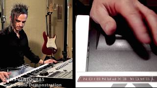 Guitar and Bass Demo on Roland Fantom X by S4K Team Chris Ventouras Keyboard Solo