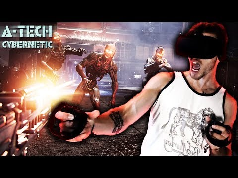 STUCK IN SPACE WITH ZAMBIES! | A-Tech Cybernetic VR Sci-Fi Horror Gameplay!