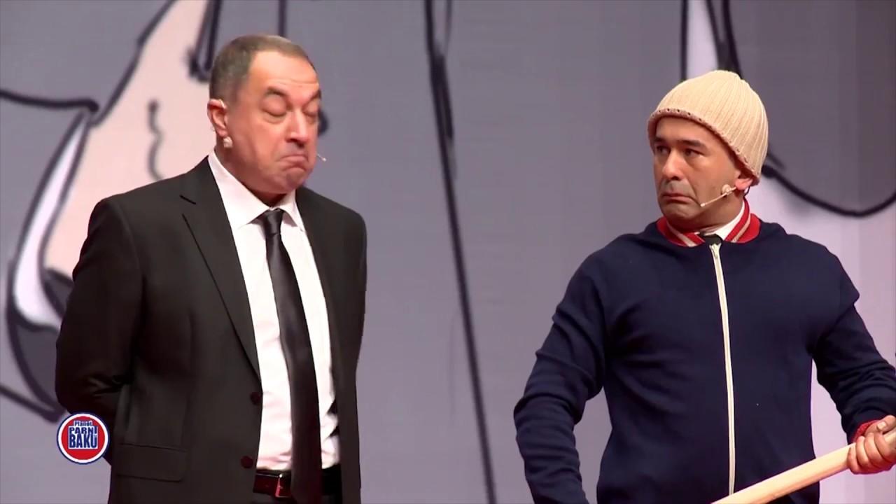 Mikayık Müşfiqin heykəli - TV-yə Giriş Qadağandır (2017 bir parça)