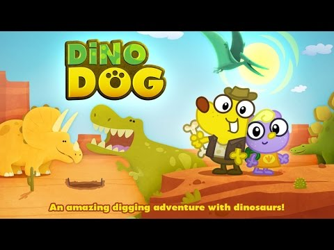 Dino Dog - A Digging Adventure with Dinosaurs! - Best App For Kids - iPhone/iPad/iPod Touch
