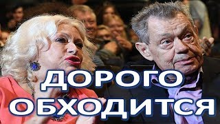 Больной  Караченцов дорого обходится жене!