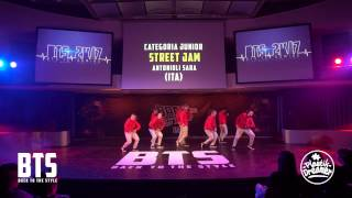 BTS 2K17 - CHOREOGRAPHIC 1°Place (Junior A) \\ Street Jam (Italy)