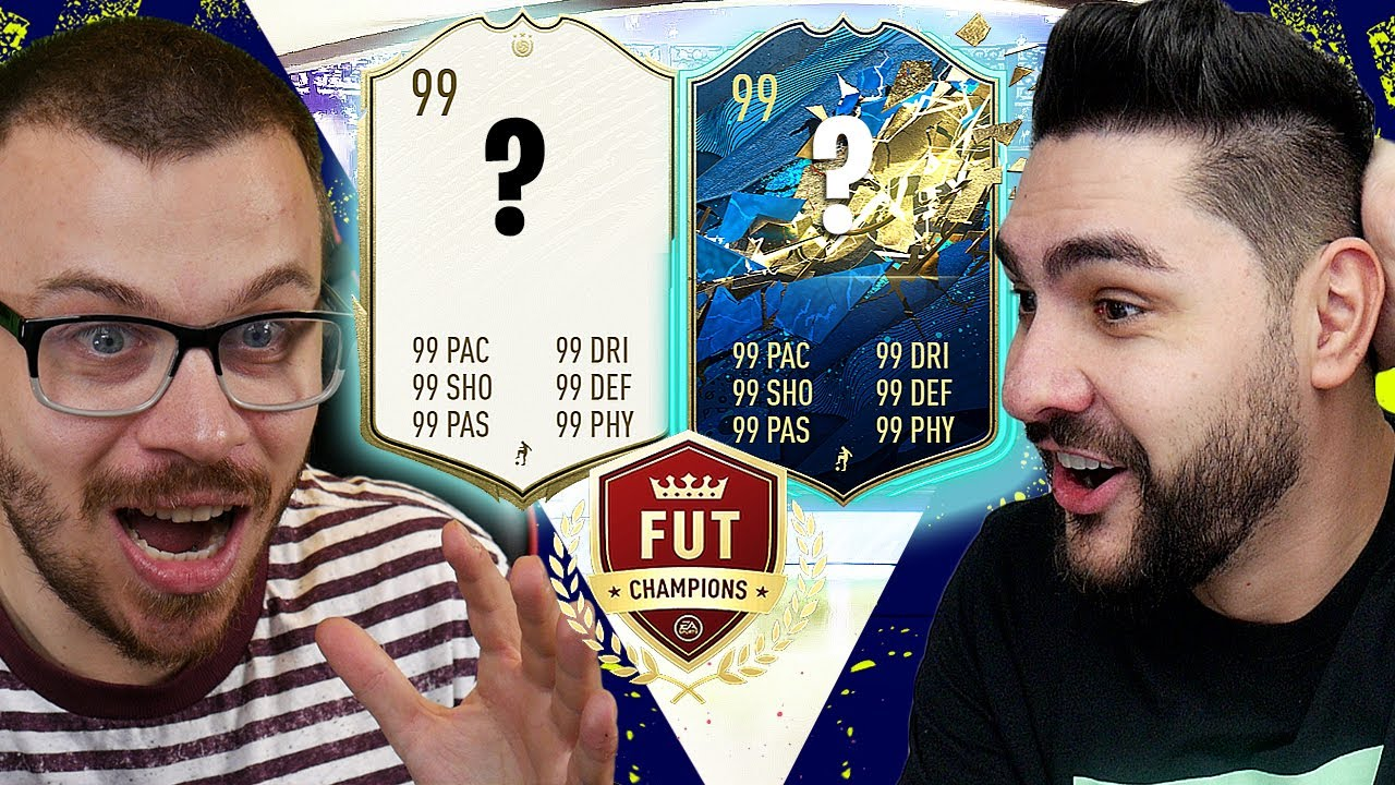 I PACKED A PRIME ICON & SUPER HIGH RATED TOTS IN MY FIFA20 FUTCHAMPS REWARDS PACK OPENING WITH KRASI