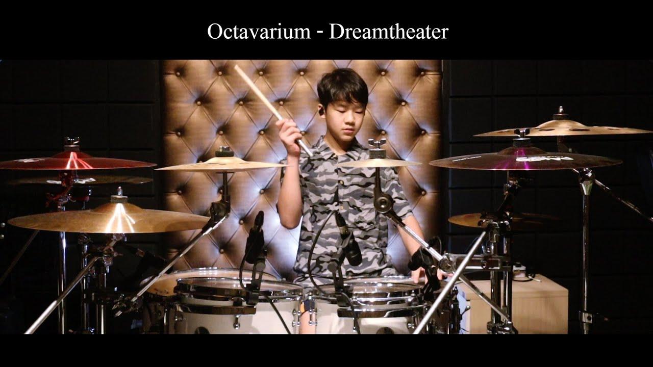 DREAMTHEATER - Octavarium | Drum Cover | Gene OVD 13 Years old
