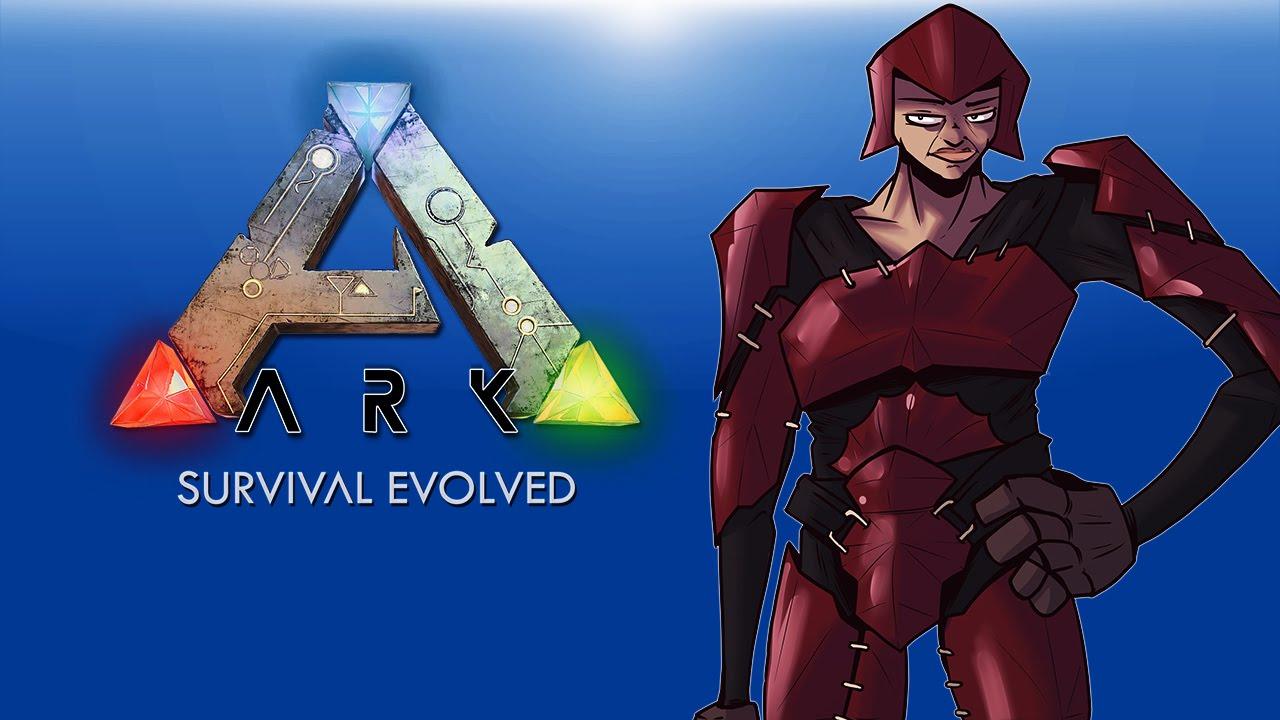 Ark Survival Evolved EP .7 (Guns, Trex, Flying Mounts, Shark Island!)