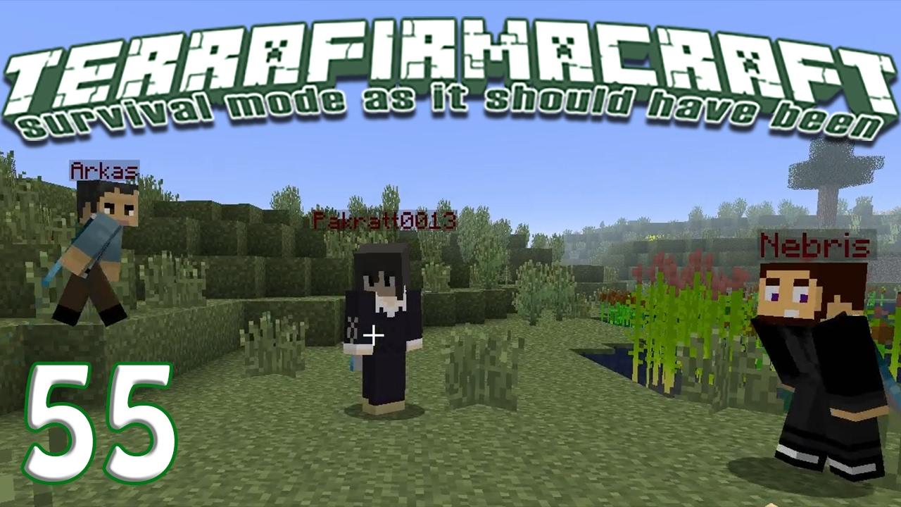 Terrafirmacraft Reloaded - E55 - Back Home (Minecraft