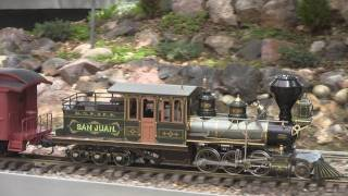 Accucraft Live Steam - Ruby, Ida, 3 cylinder Shay & Mason Bogie