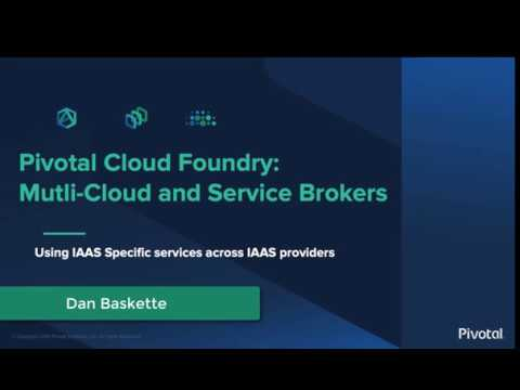 Multi-Cloud and Service Brokers