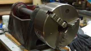 testrun of scraped spindle bearings