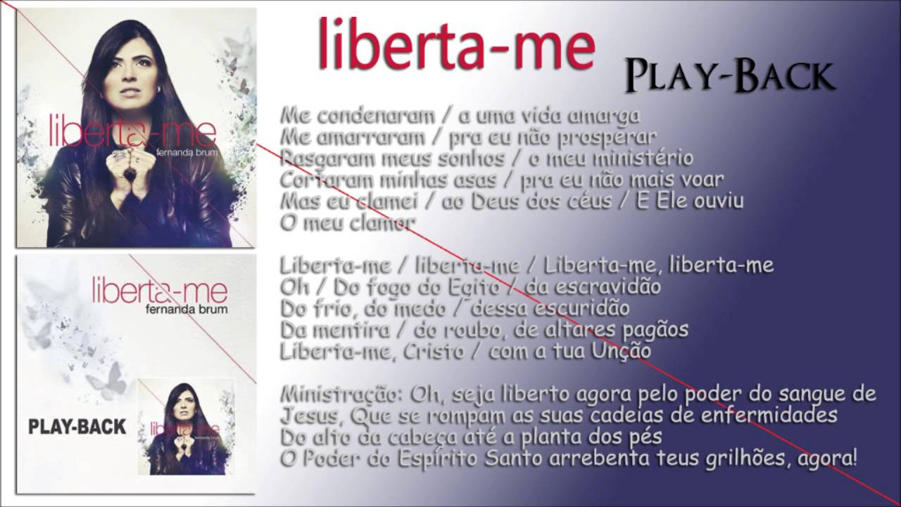 cd fernanda brum liberta me playback