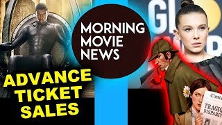 Black Panther Advance Ticket Sales & Box Office, Millie Bobby Brown is Enola Holmes