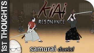 "Kiai Resonance - 1st Thoughts - Samurai Dueling! ""Sweaty Palms & Swearing"" Indie Game"