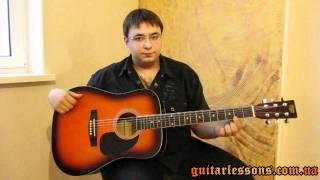 Гитара. Устройство гитары. Урок для начинающих