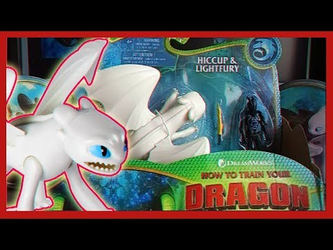 ОБЗОР ИГРУШКИ ИККИНГ И ДНЕВНАЯ ФУРИЯ || How To Train Your Dragon 3 // TOY