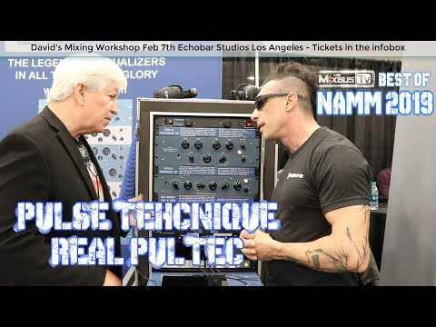 Pulse Technique Equalizers - The real Pultec Eqs NAMM 2019 Mp3