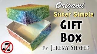 Origami Super Simple Gift Box (no music)