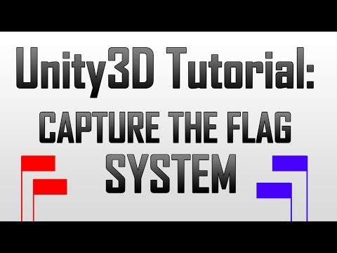[Unity3D] Capture the flag system in Unity3D