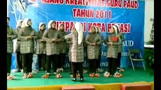 Mars Himpaudi Final PAUD Mustika Jaya Bekasi 2012