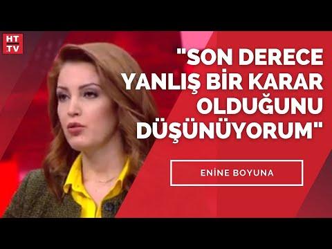 Enine Boyuna'da Gazeteci Nagehan Alçı, İstanbul Sözleşmesi tartışmasını yorumladı