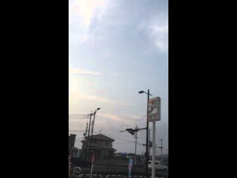 熊本 地震雲!?Earthquake cloud!?
