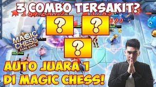 3 COMBO TERSAKIT!? AUTO JUARA 1 di MAGIC CHESS!