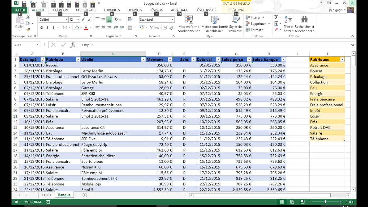 Relativ how to design a monitoring bank account with bank reconciliation  SH91