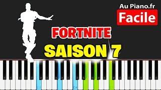 FORTNITE DANCES ON PIANO (7)